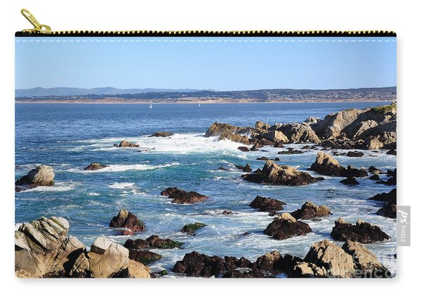 Rocky Remains At Monterey Bay Carry-all Pouch