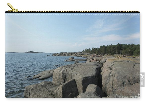 Rocky Seashore 2 In Hamina  Carry-all Pouch