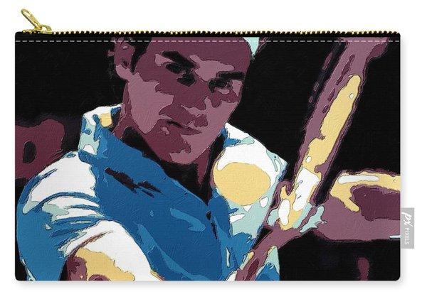 Roger Federer Portrait Art Carry-all Pouch