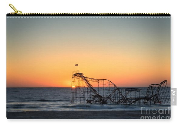 Roller Coaster Sunrise Carry-all Pouch