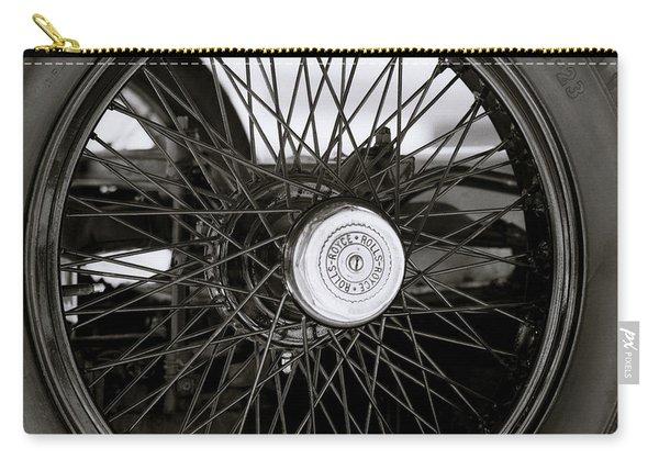 Rolls Royce Wheel Carry-all Pouch