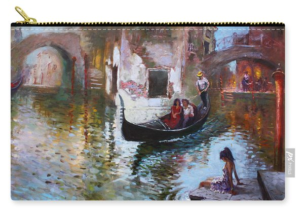 Romance In Venice 2013 Carry-all Pouch