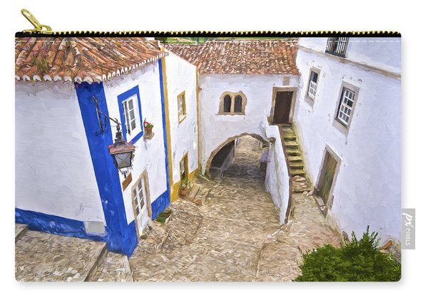 Romantic Obidos Carry-all Pouch