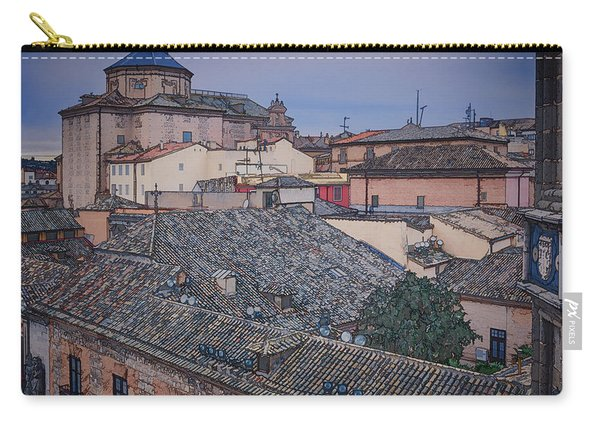 Rooftops Of Toledo Carry-all Pouch