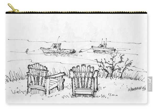 Room For Two Monhegan Island 1993 Carry-all Pouch