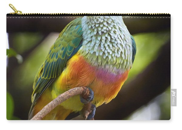 Rose-crowned Fruit-dove Australia Carry-all Pouch