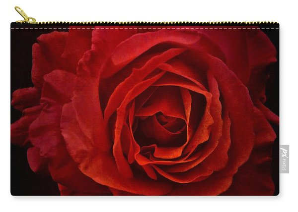 Rose In Red Carry-all Pouch