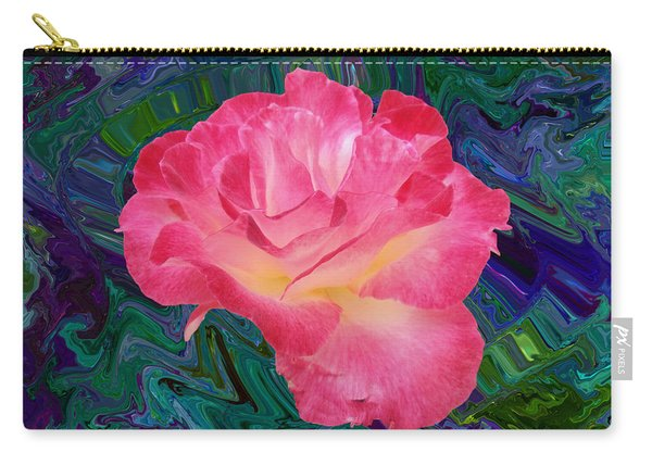 Rose In The Matter Of Your Hand V7 Carry-all Pouch