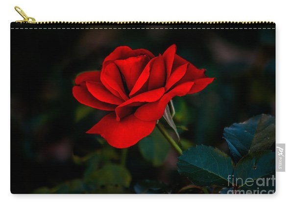 Rose Is A Rose Carry-all Pouch