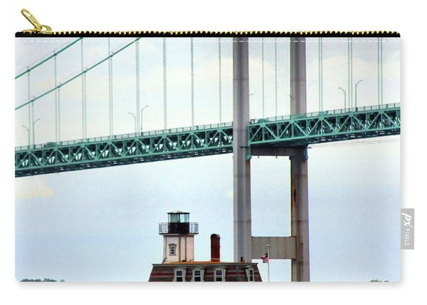 Rose Island Lighthouse Carry-all Pouch