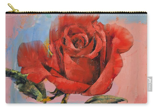 Rose Painting Carry-all Pouch