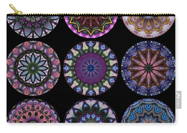 Rose Window Quilt 1 Carry-all Pouch