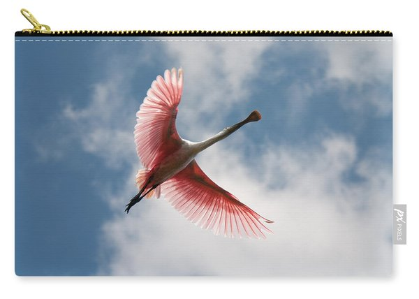 Roseate Soaring Carry-all Pouch