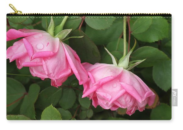 Roses After The Shower Carry-all Pouch