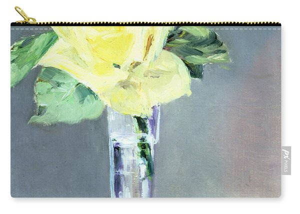 Roses In A Champagne Glass Carry-all Pouch