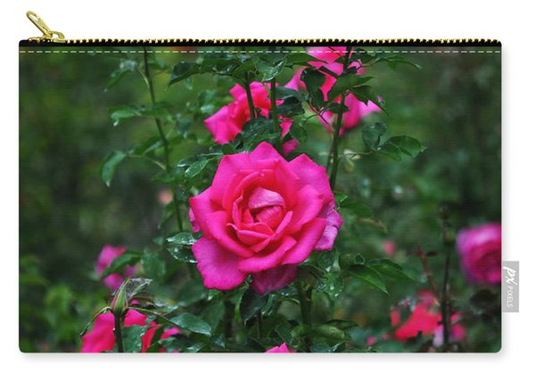 Roses In The Garden Carry-all Pouch