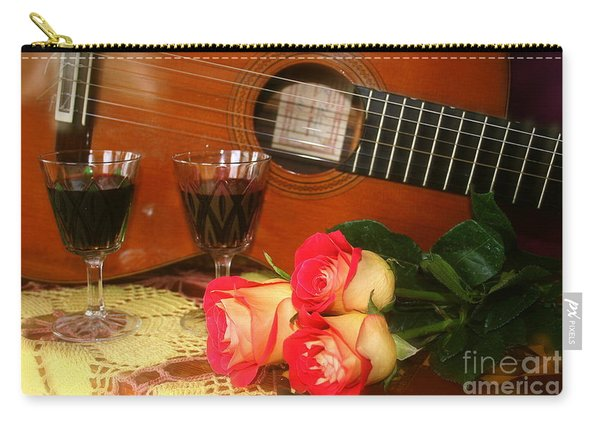 Guitar 'n Roses Carry-all Pouch