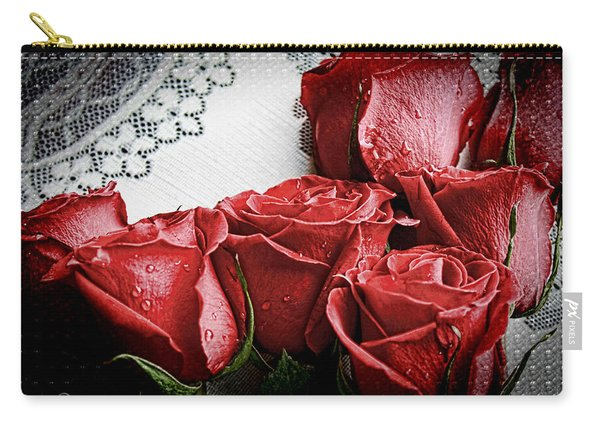 Roses To Remember Carry-all Pouch