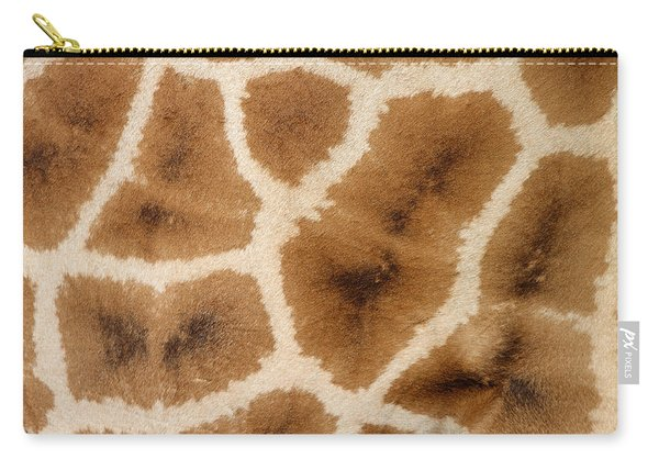 Rothschild's Giraffe Hide Abstract Carry-all Pouch