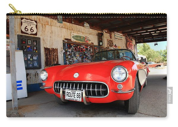 Route 66 Corvette Carry-all Pouch