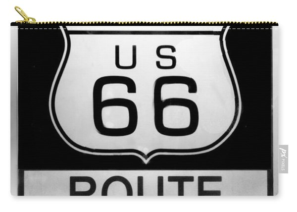 Route 66 End Carry-all Pouch