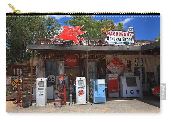 Route 66 - Hackberry General Store Carry-all Pouch