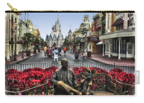 Roy And Minnie Mouse Walt Disney World Carry-all Pouch