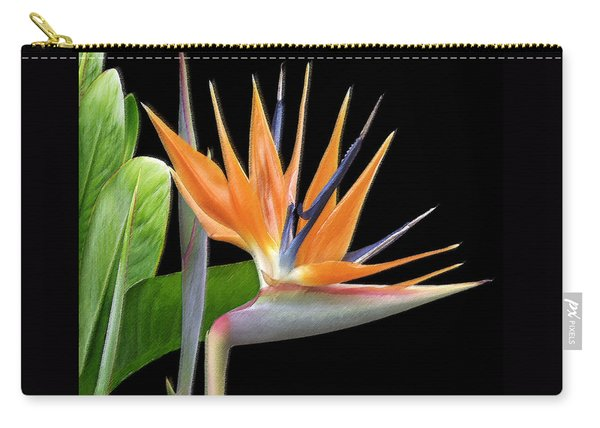 Royal Beauty I - Bird Of Paradise Carry-all Pouch