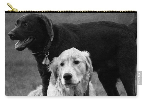Rubbing Noses Carry-all Pouch