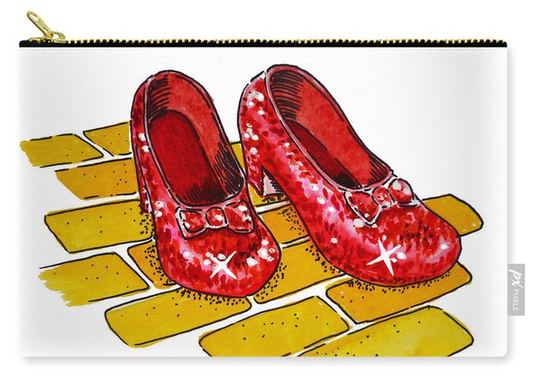 Ruby Slippers The Wizard Of Oz  Carry-all Pouch