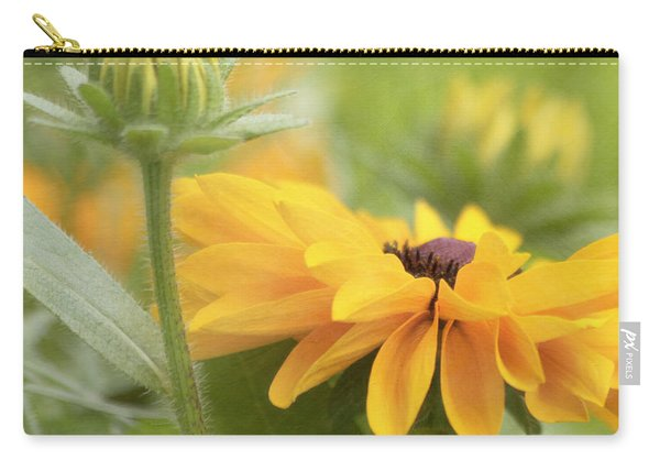 Rudbeckia Flower Carry-all Pouch