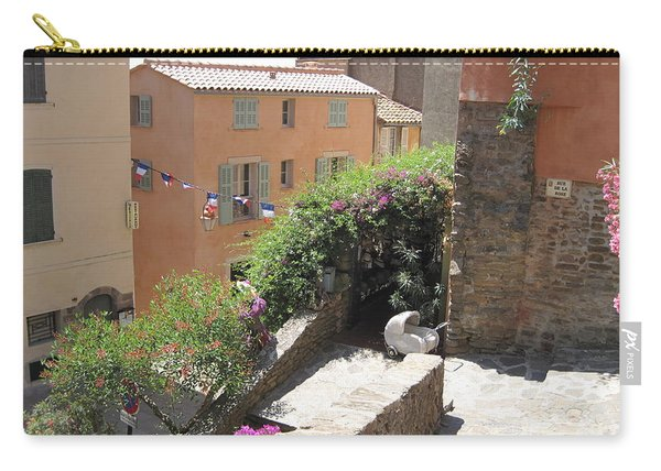 Rue De La Rose Carry-all Pouch