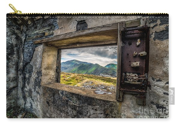 Ruin With A View  Carry-all Pouch