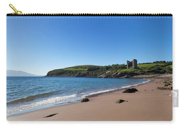 Ruined 16th Century Minard Castle Carry-all Pouch
