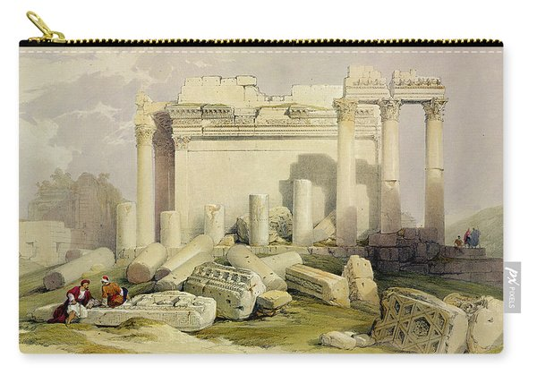 Ruins Of The Eastern Portico Carry-all Pouch