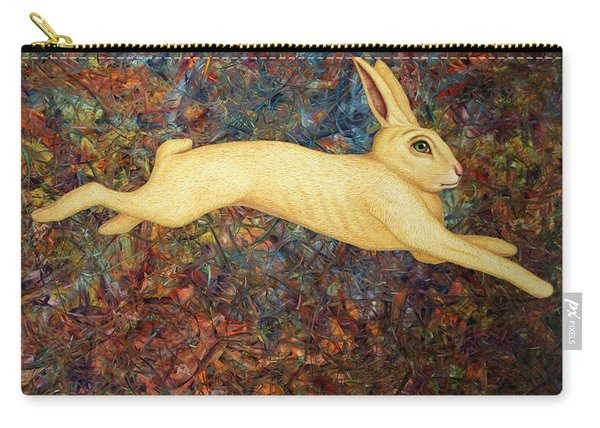 Running Rabbit Carry-all Pouch