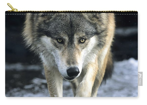 Running Wolf Carry-all Pouch