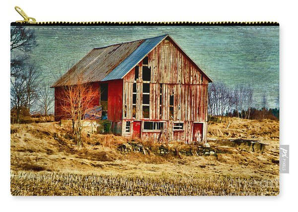 Rural Rustic Vermont Scene Carry-all Pouch