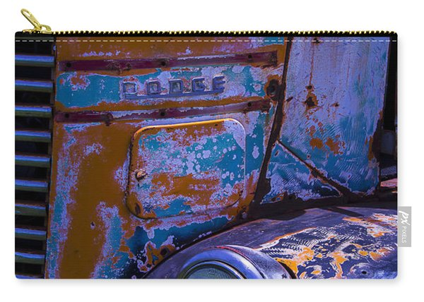 Rusrty Old Dodge Truck Carry-all Pouch