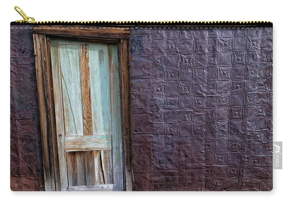 Rusted Tin Exterior In Bodie Carry-all Pouch