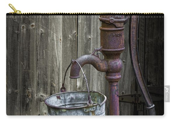 Rusty Hand Water Pump Carry-all Pouch