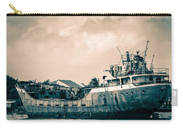 Rusty Ship Carry-all Pouch