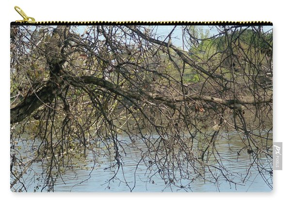 Fall At Sacramento River Scenic Photography Carry-all Pouch