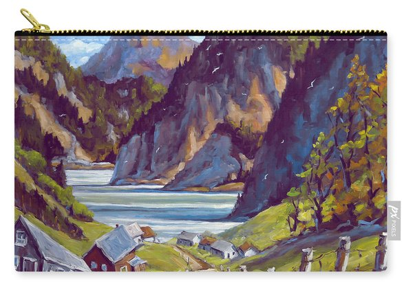 Saguenay Summer By Prankearts Carry-all Pouch