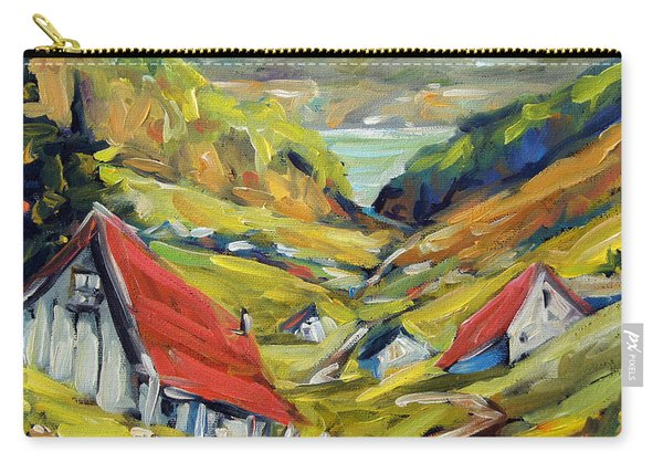 Saguenay Valley By Prankearts Carry-all Pouch