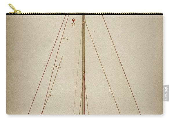 Sailboat 42 Carry-all Pouch