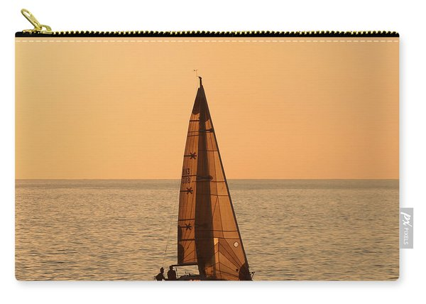 Sailboat In Hawaii Carry-all Pouch