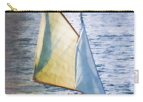 Sailboat Off Marthas Vineyard Massachusetts Carry-all Pouch