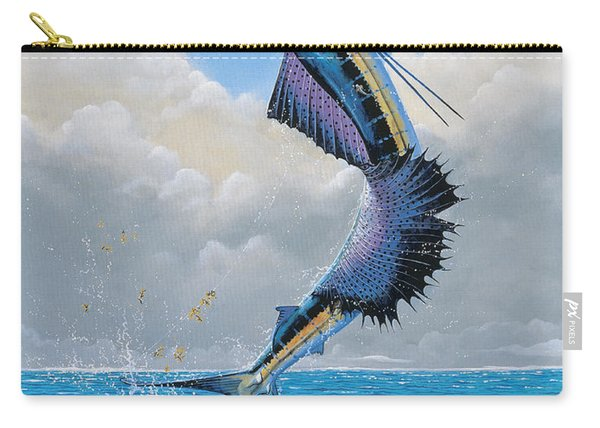 Sailfish Dance Off0054 Carry-all Pouch