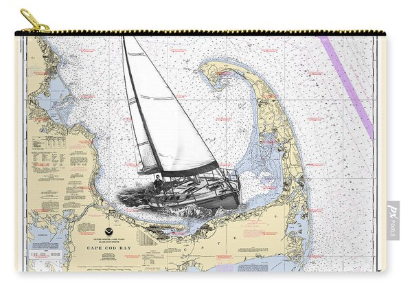Sailing Cape Cod Bay Carry-all Pouch